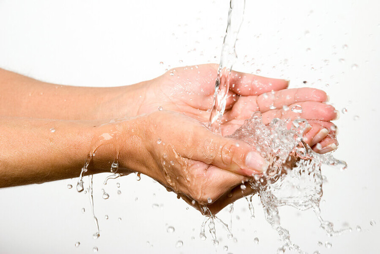 Image result for water on skin